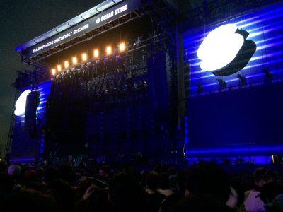 サマーソニック大阪2016、レディオヘッドライブ
